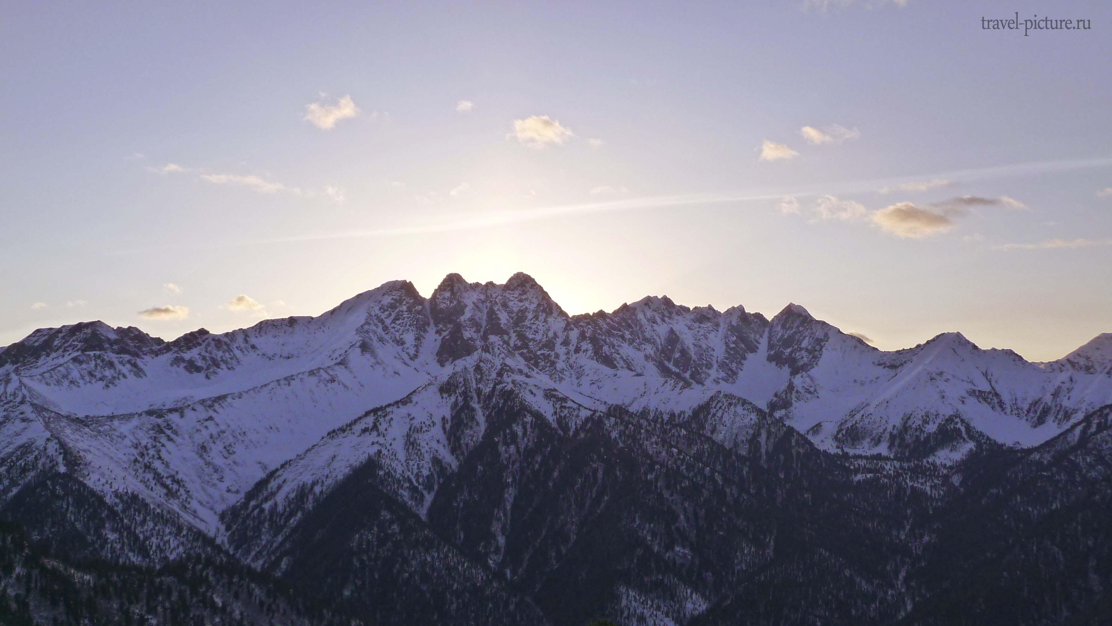 тункинская долина зимой