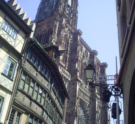 Страсбург-маленький и самый живописный уголок Франции