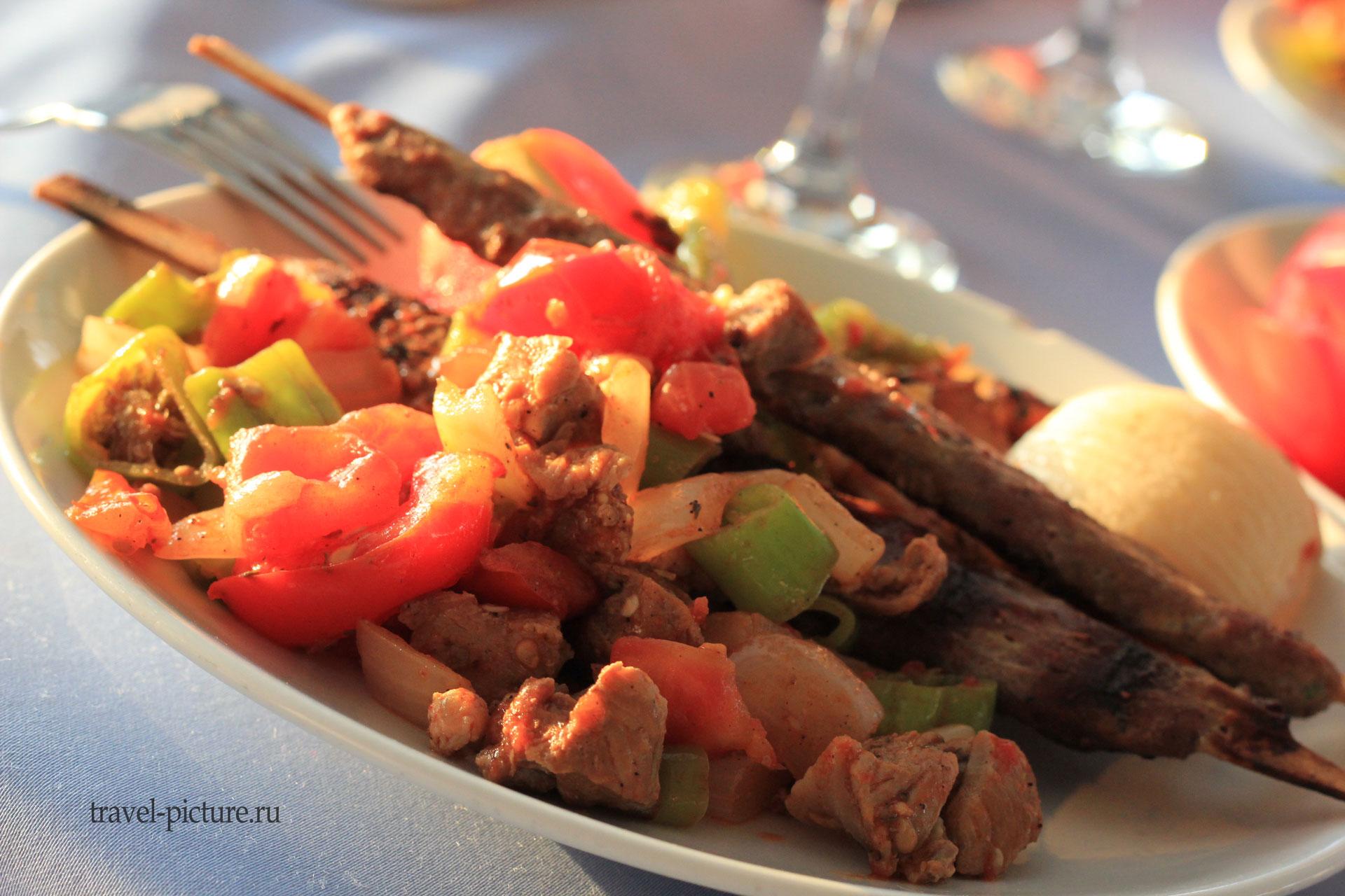 Турецкая кухня в картинках