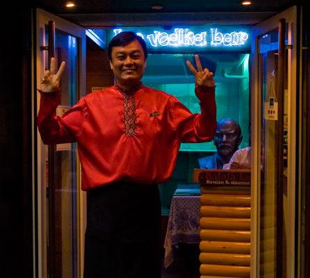 ресторан Балалайка в Гонконге