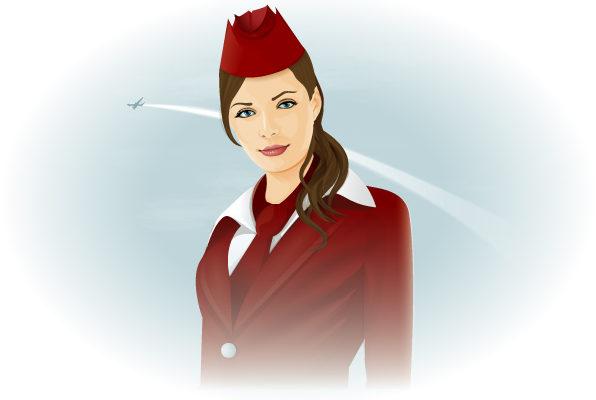 стюардесса выпала из самолета