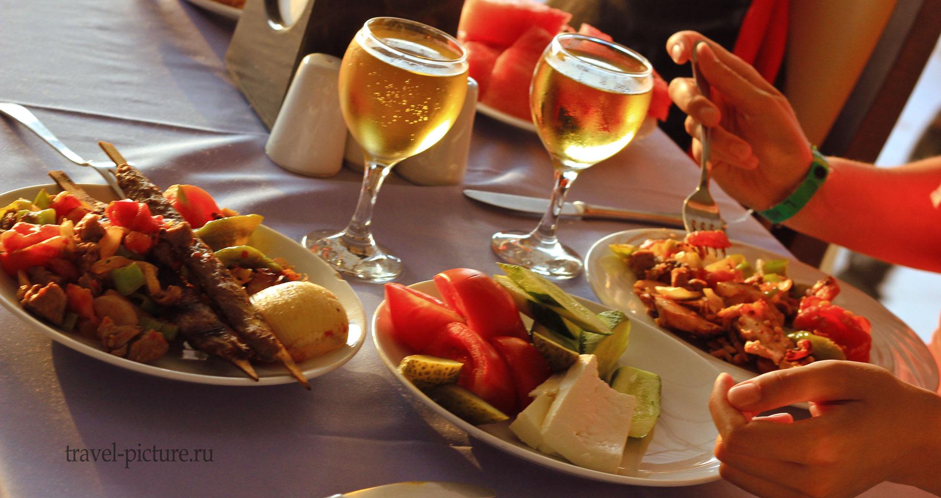 традиционная турецкая кухня, ужин