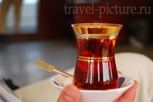 Традиционные напитки Турции и турецкий чай