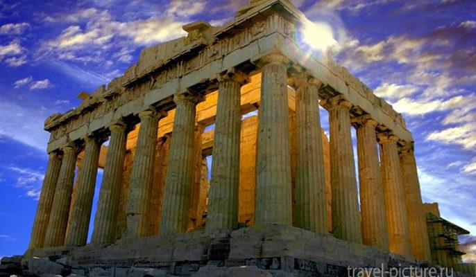 главные достопримечательности Греции