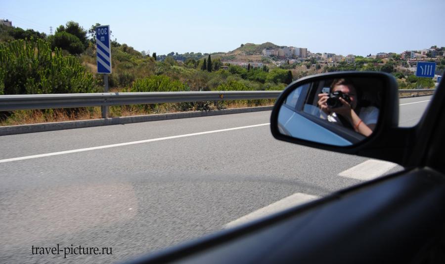 аренда автомобиля в городе Барселона