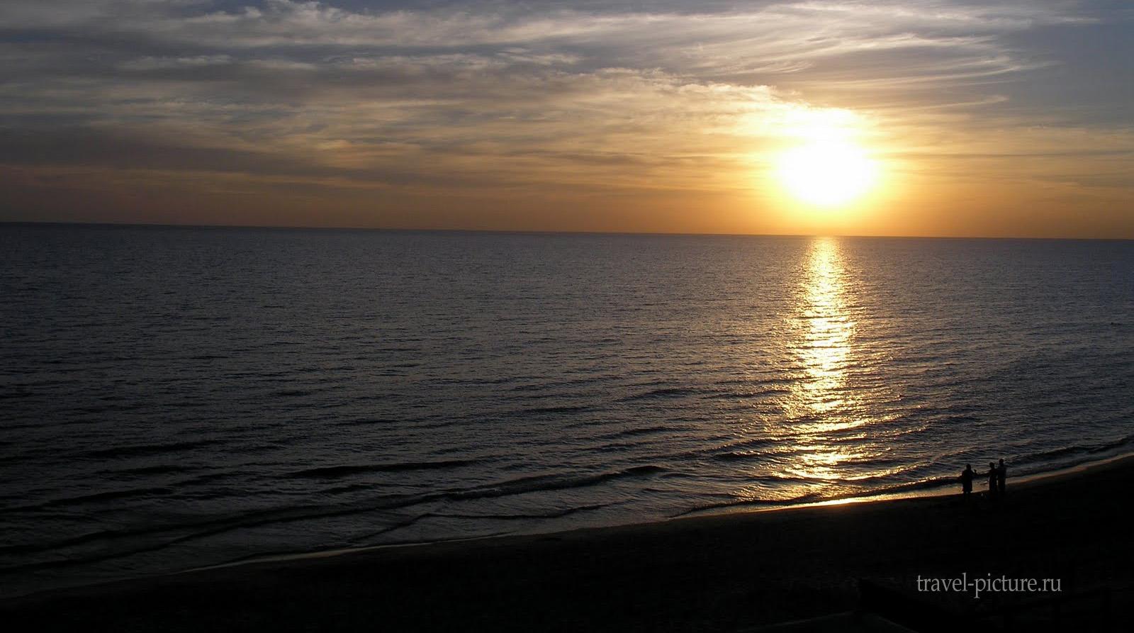 вид на море в Израиле
