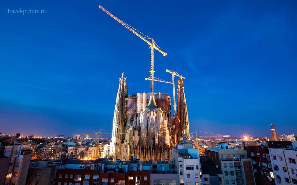 архитектура в городе Барселона