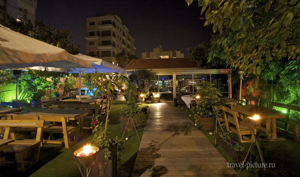 ресторан в тель-Авиве