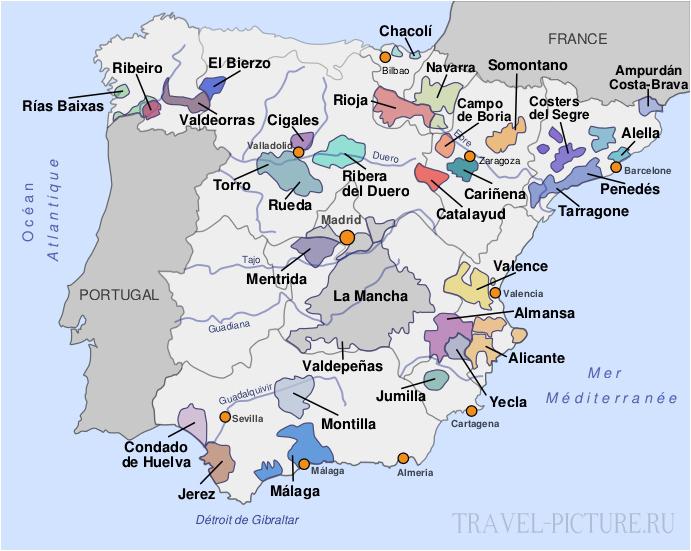 Что в Испании попробовать из вина