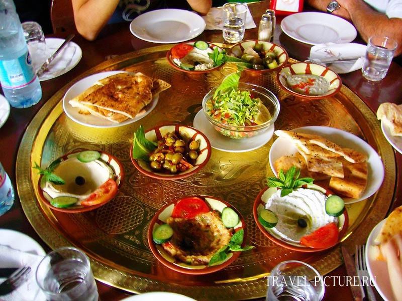 блюда арабской кухни