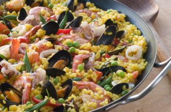 Настоящий классический испанский рецепт Паэльи (Paella)