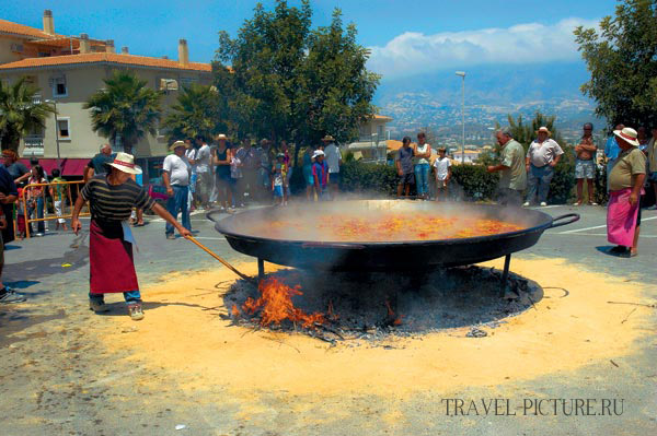 как приготовить паэлью Настоящий классический испанский рецепт Паэльи