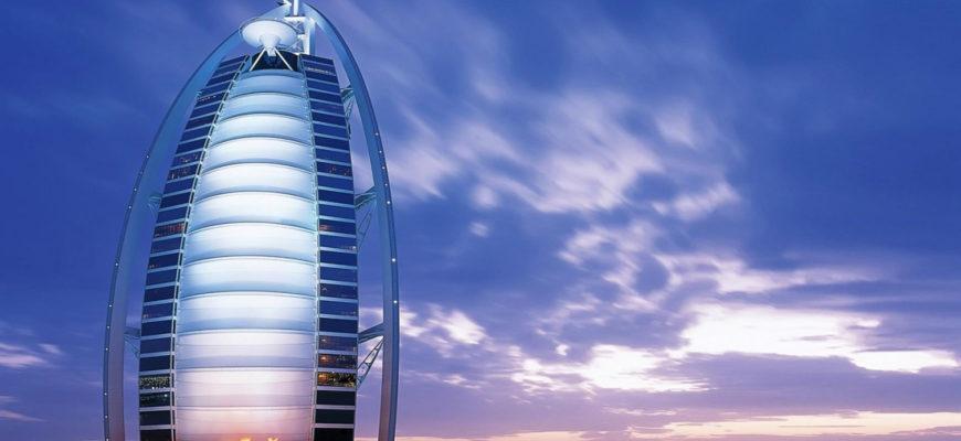 отель дубая Бурдж аль-Араб