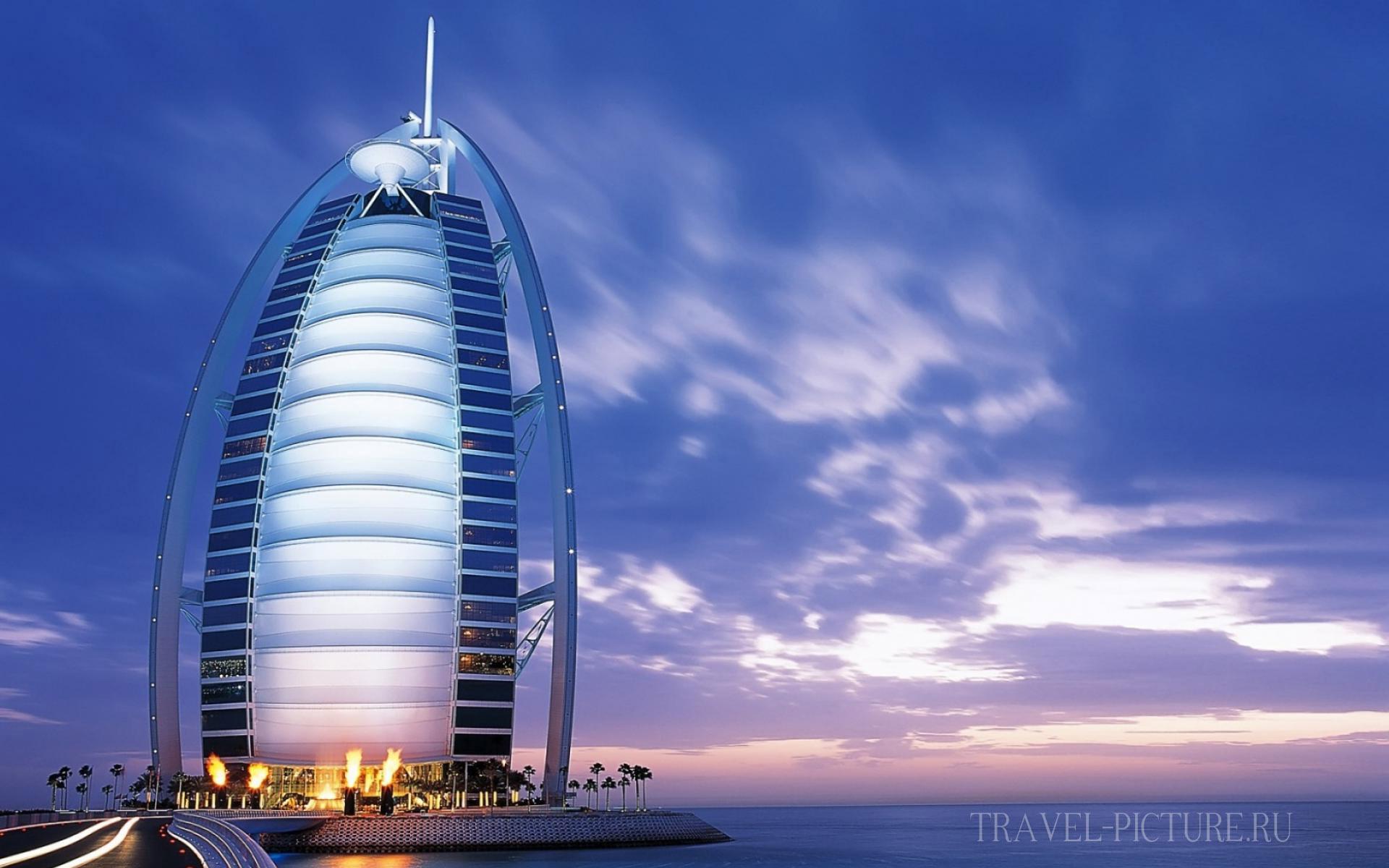 Отель Дубая Бурдж аль Араб