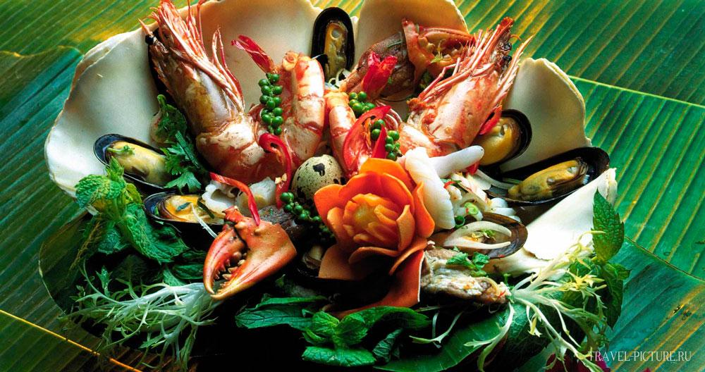 экзотическая тайская кухня