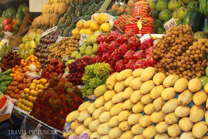 что попробовать в Таиланде из фруктов