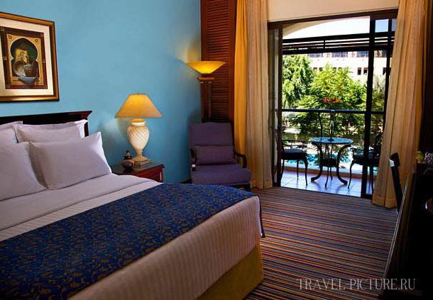 номер в отеле Jordan Valley Marriott Resort 5*