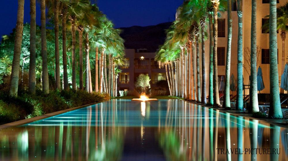 Вечер в отеле Kempinski Hotel Ishtar Dead Sea 5*