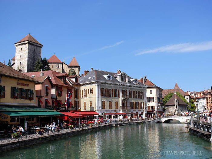 город Анси Франция