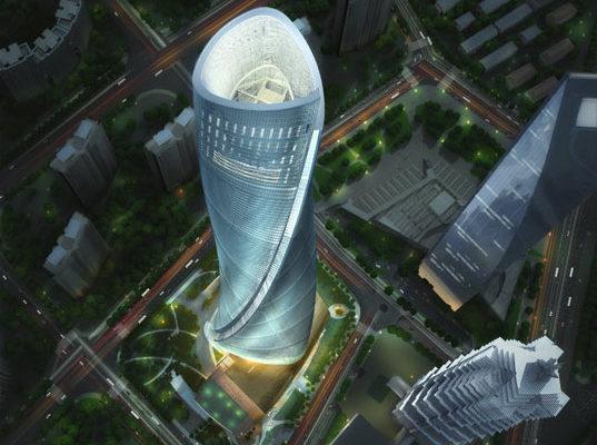 самое высокое здание в Шанхае j hotels