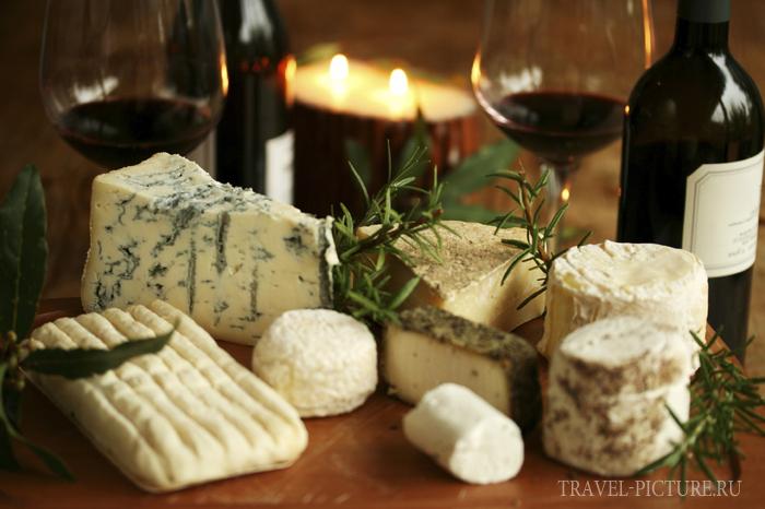 виды и сорта сыров во франции