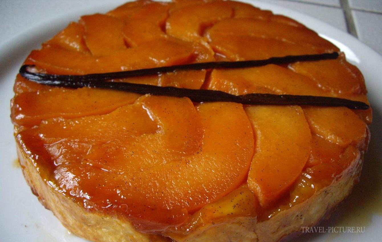 Тарт татэн - пирог с абрикосами