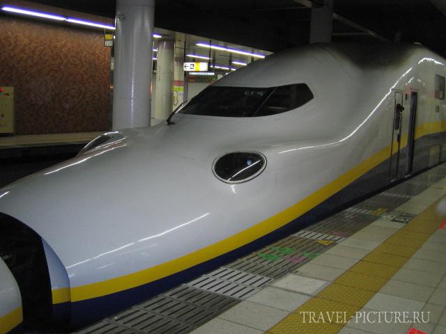 скоростной поезд шинконсене