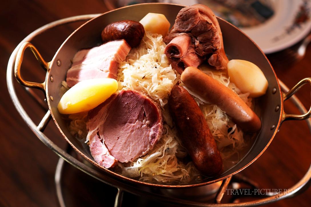 кухня эльзаса-шукрут