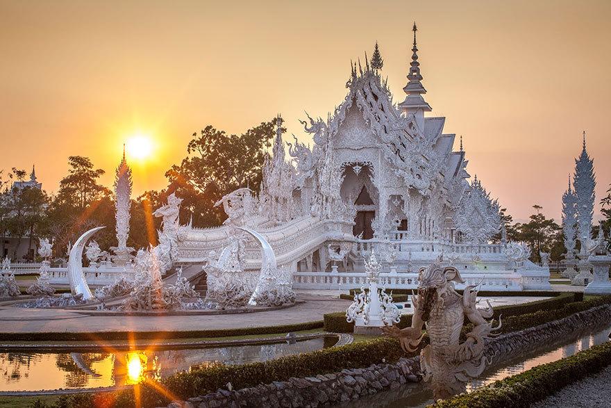 Белый храм Тайланда
