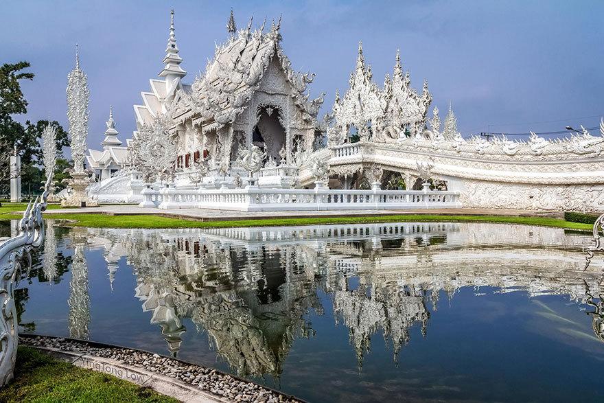 как добраться до белый храм Таиланда