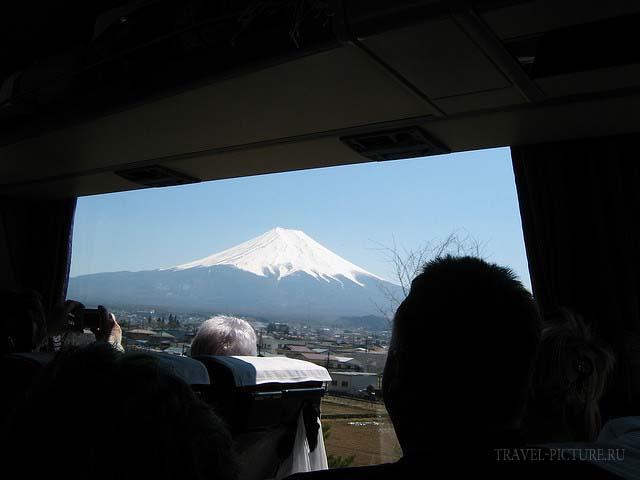достопримечательности Японии,гора Фудзи Сан
