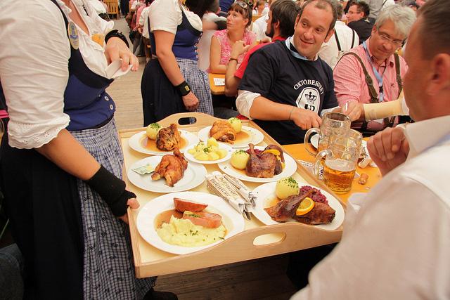 Пивной фестиваль Октоберфест в Германии