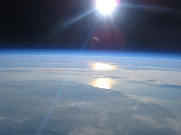 вид из космоса фотографии