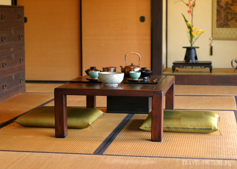 сервировка в японской кухне