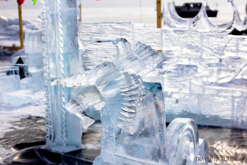 конкурс ледяных скульптур Хрустальная нерпа17
