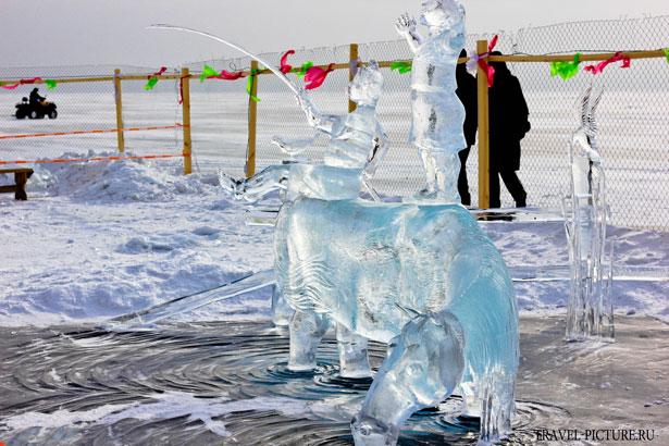 конкурс ледяных скульптур на байкале