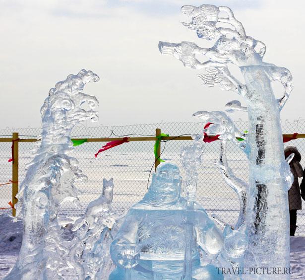 конкурс ледяных скульптур Хрустальная нерпа19