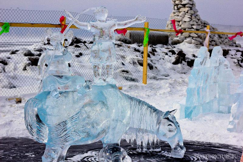 конкурс ледяных скульптур Хрустальная нерпа 9