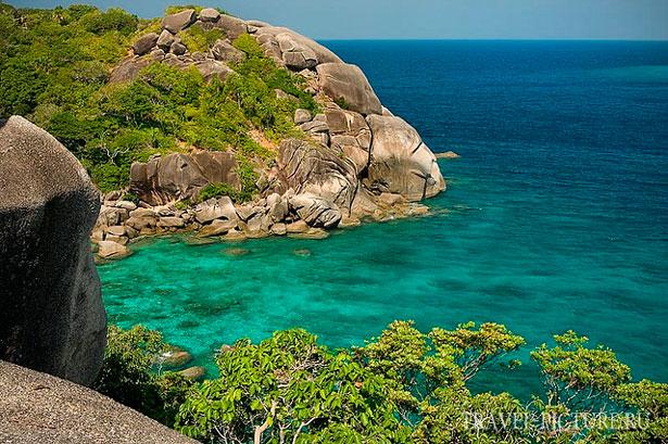 рифы и симиланские острова в Таиланде