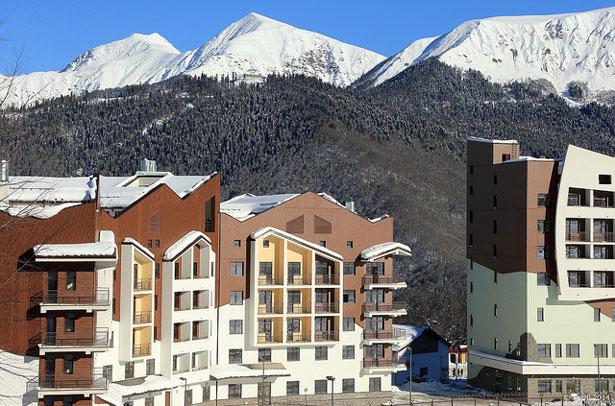 Цены на катание на горнолыжных курортах в Сочи