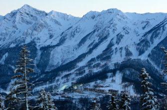 Цены на горнолыжных курортах в Сочи