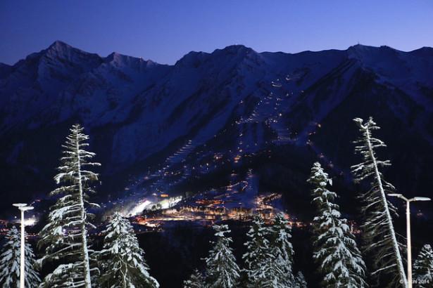 горнолыжные курорты города Сочи открывают сезон