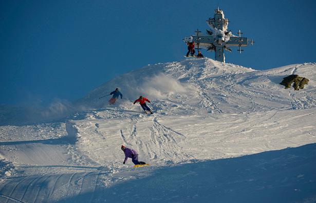 открытие горнолыжного курорта шерегеш