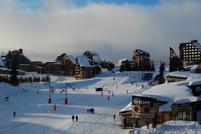 французский горнолыжный курорт Авориаз