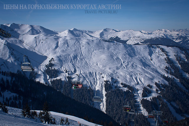 цены на горнолыжных курортах в Австрии, катание и подъем