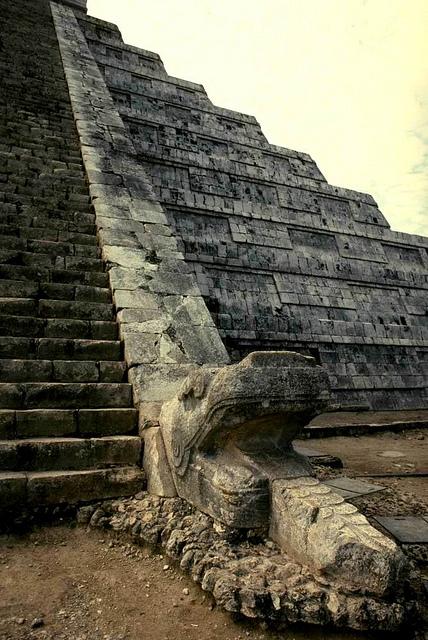 Пирамида бога Кукулькана