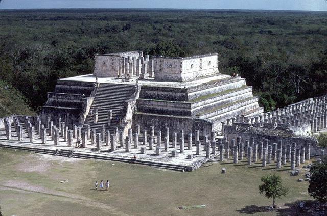 храм кулькана чичен ица