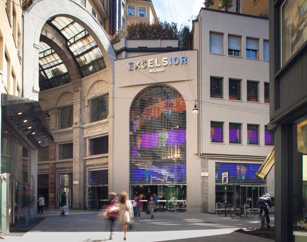 миланский шопинг в Excelsior Milano