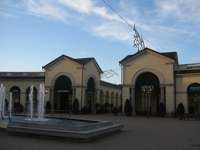 шопинг в Аутлет Серравалле (SerravalleDesignerOutlet)