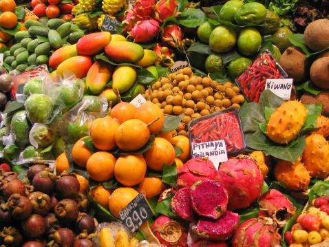 Привезти экзотические фрукты из Таиланда